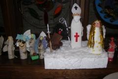 Malujeme Mikuláše, anděly a čerty